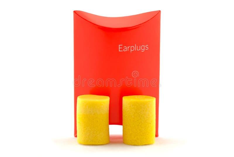 Earplugs immagine stock libera da diritti
