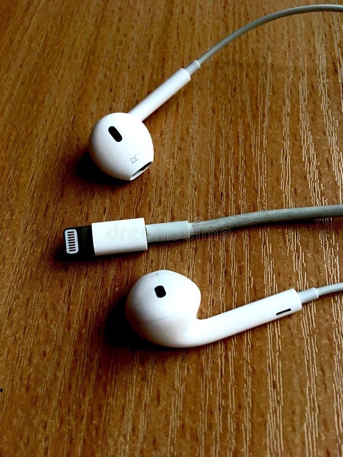 EarPods стоковая фотография