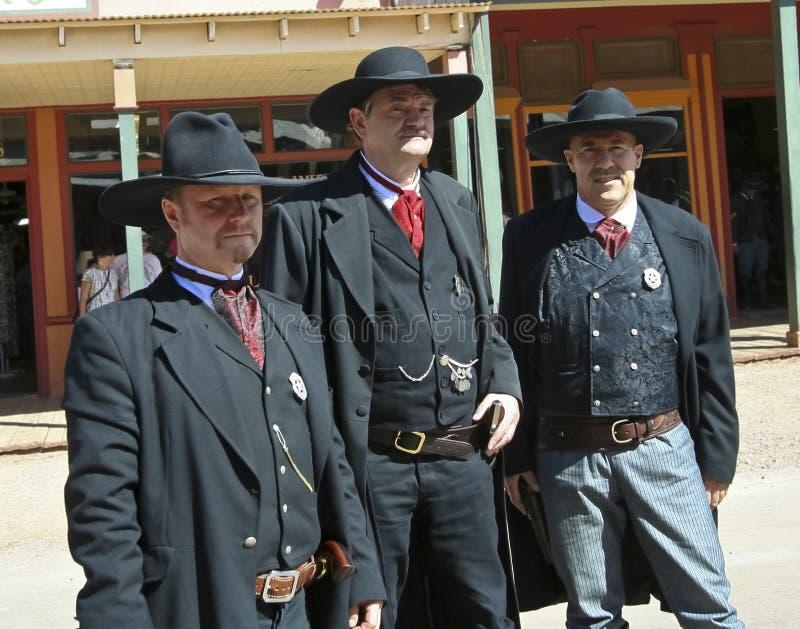 A Earps of Helldorado, Tombstone, Arizona royalty free stock photography