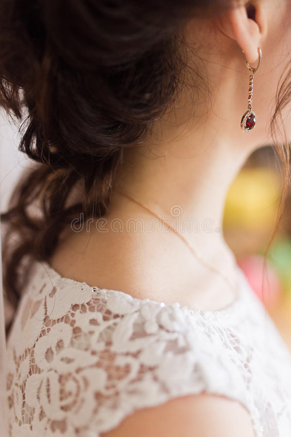 earring immagine stock