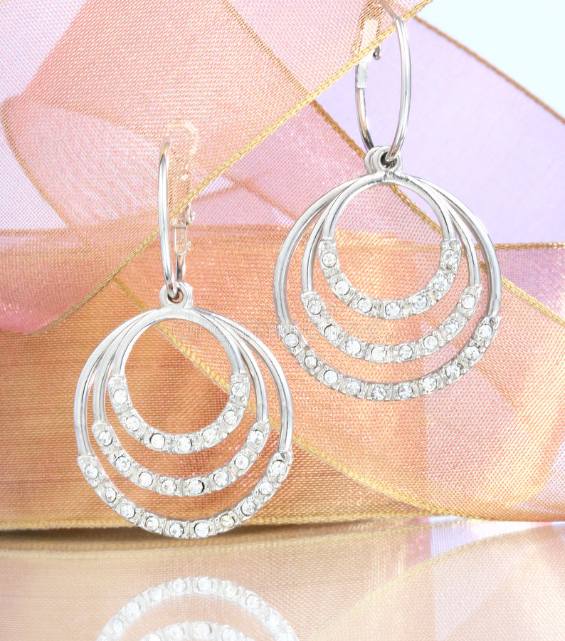 Download Earring stock image. Image of earring, diamond, blue, reflection - 4510863