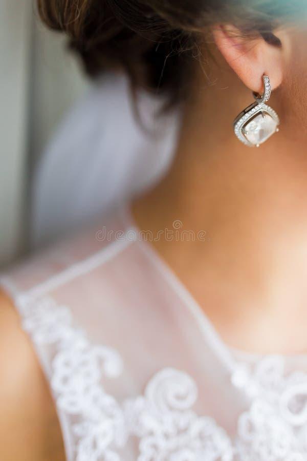 earring fotografie stock