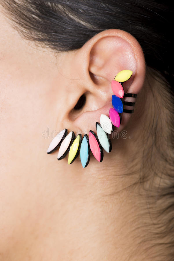 earring fotografia stock libera da diritti
