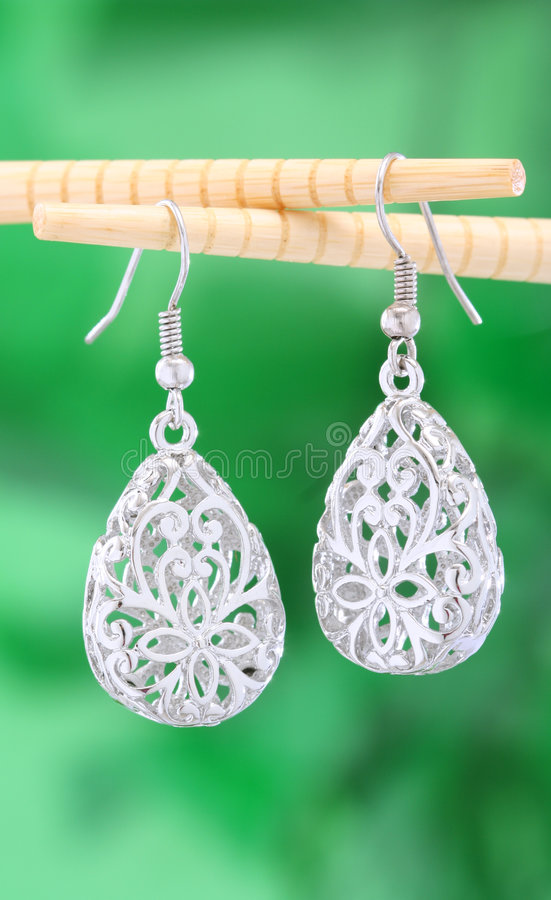 Download Earring stock photo. Image of round, jewelry, earring - 5404422