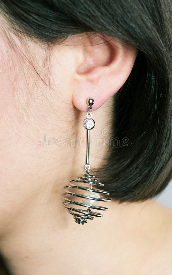 Earring Royalty Free Stock Image