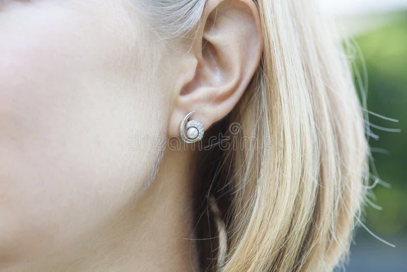 earring fotografia stock