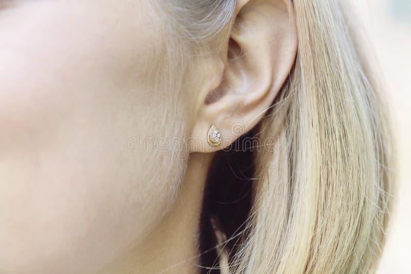 earring immagine stock libera da diritti