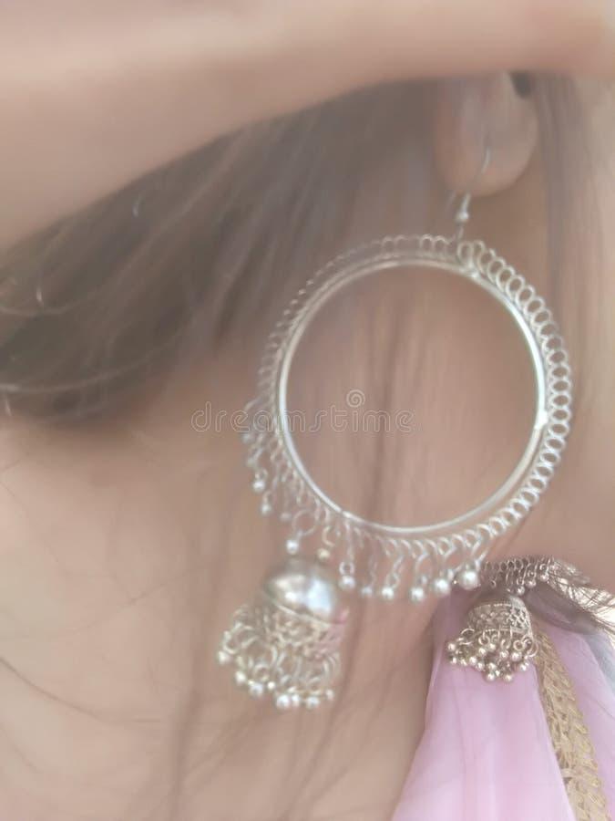 earring photographie stock libre de droits