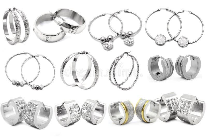 earring Monili delle donne fotografia stock
