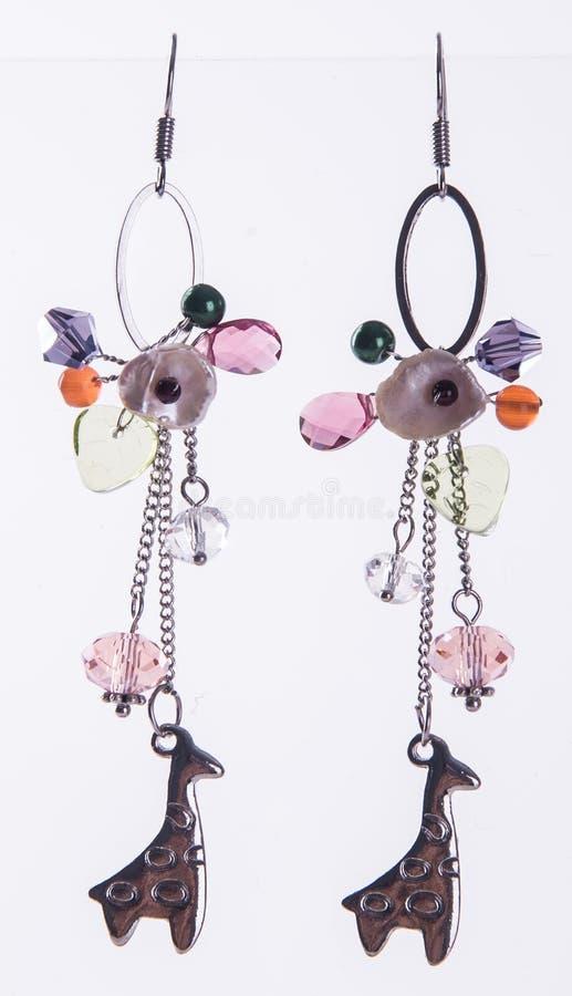 earring orecchino sui precedenti fotografia stock