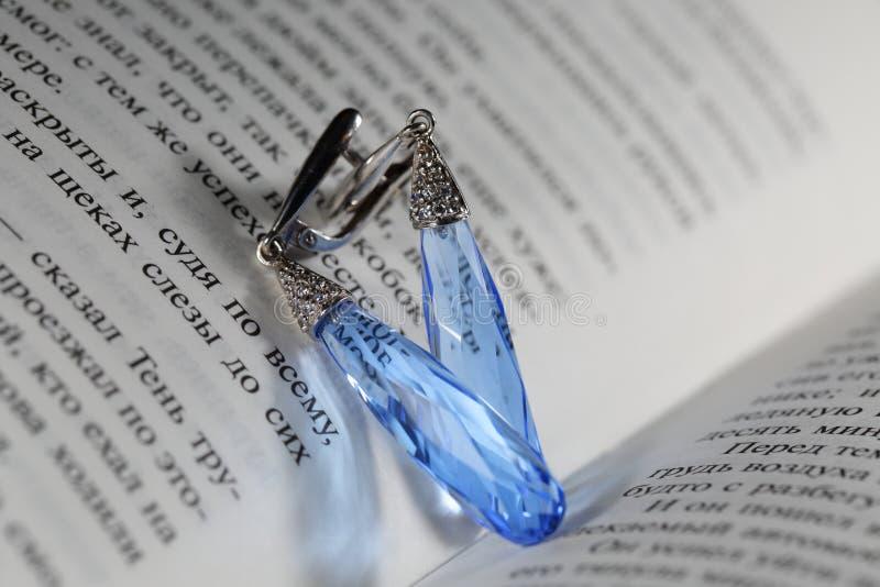 earrings fotografie stock