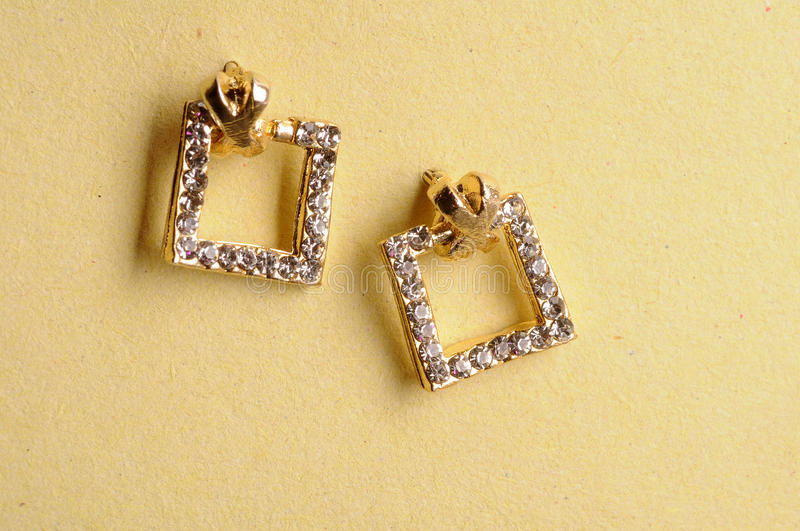 Earrings Jewel Royalty Free Stock Photos