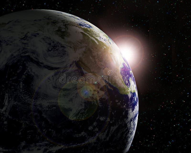 The Earth vector illustration