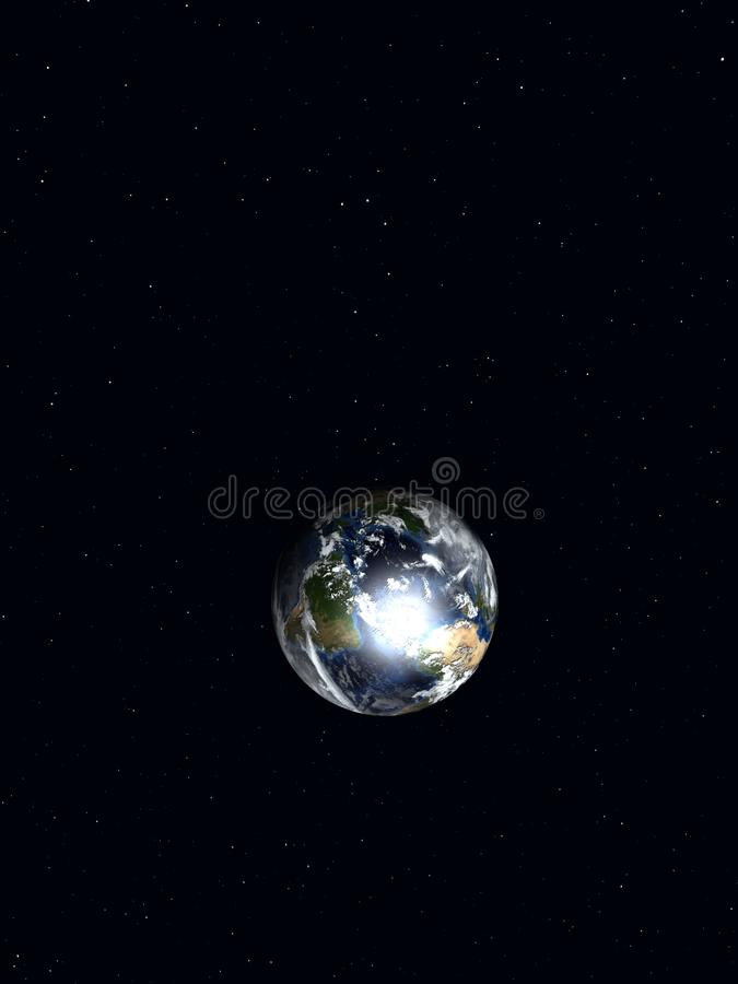 Earth 2 stock photo