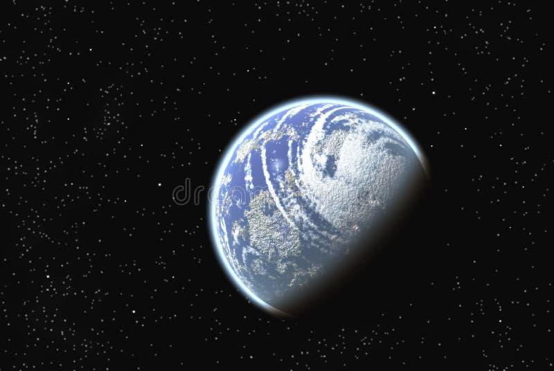 Download Earth stock illustration. Illustration of universe, earth - 2124431