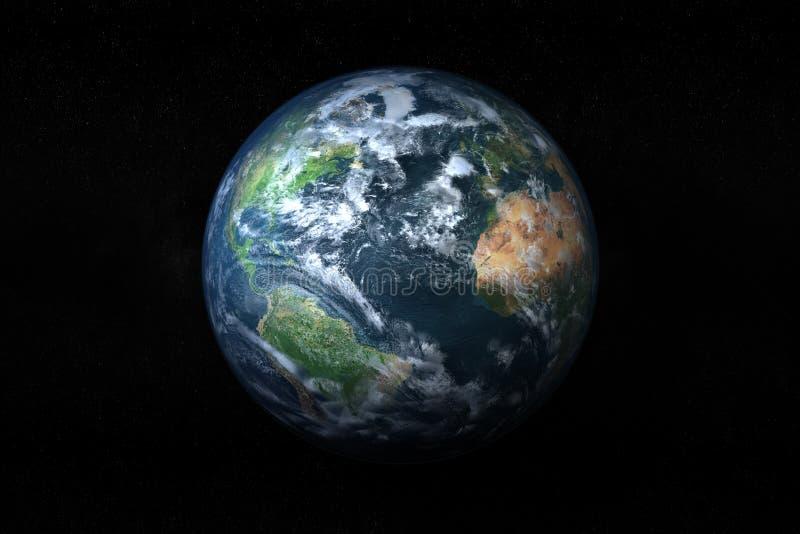 Download Earth stock illustration. Image of astronomy, world, globe - 24400657