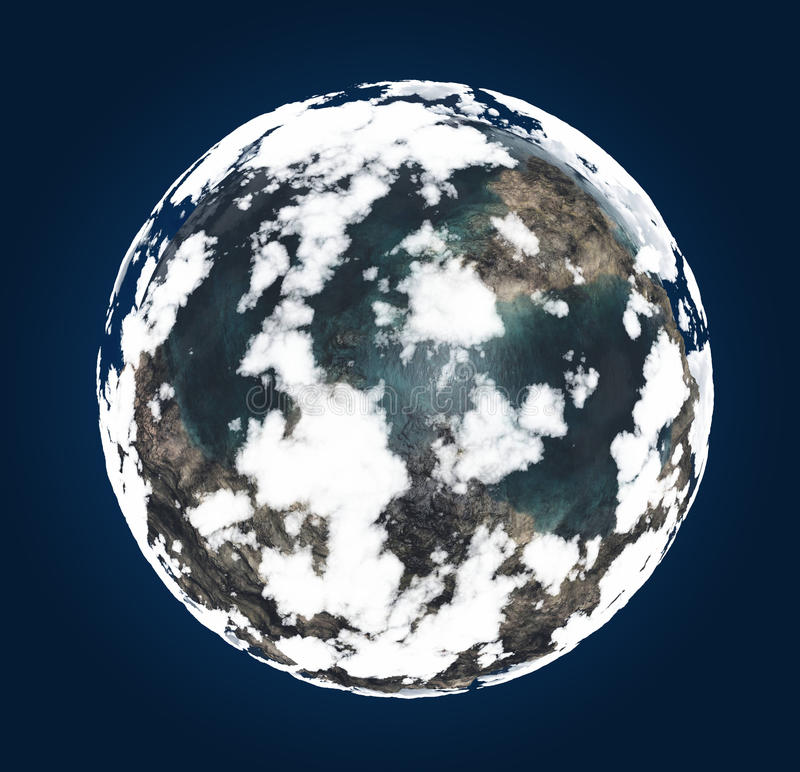 Download Earth stock illustration. Image of weather, earth, night - 25931783