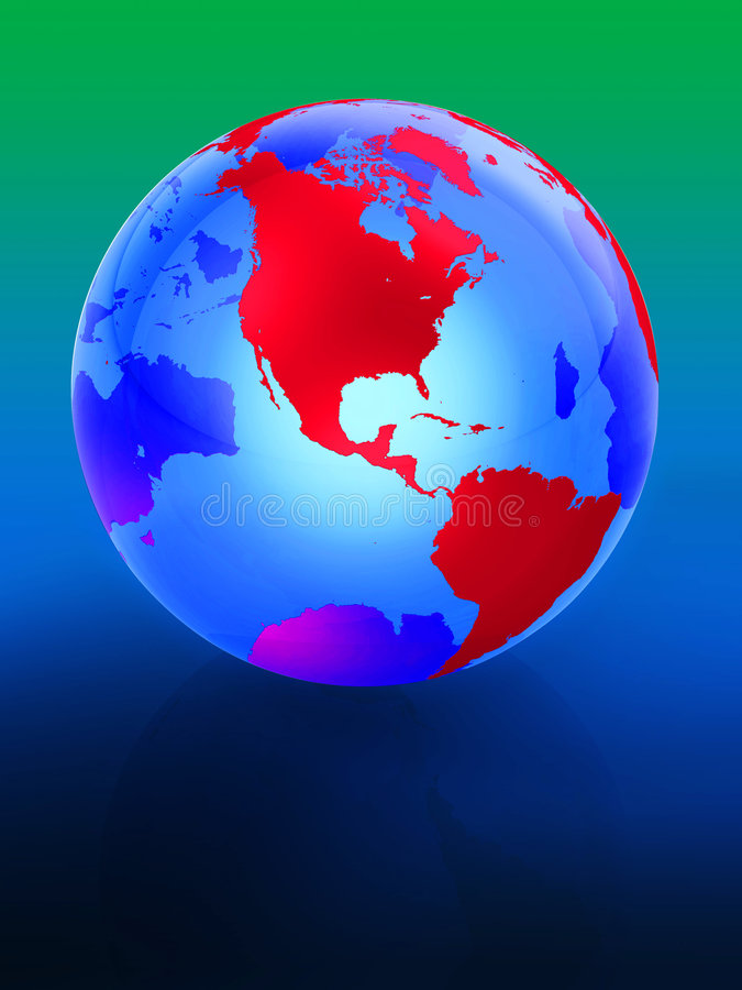 Free Earth 3d Stock Image - 3444121