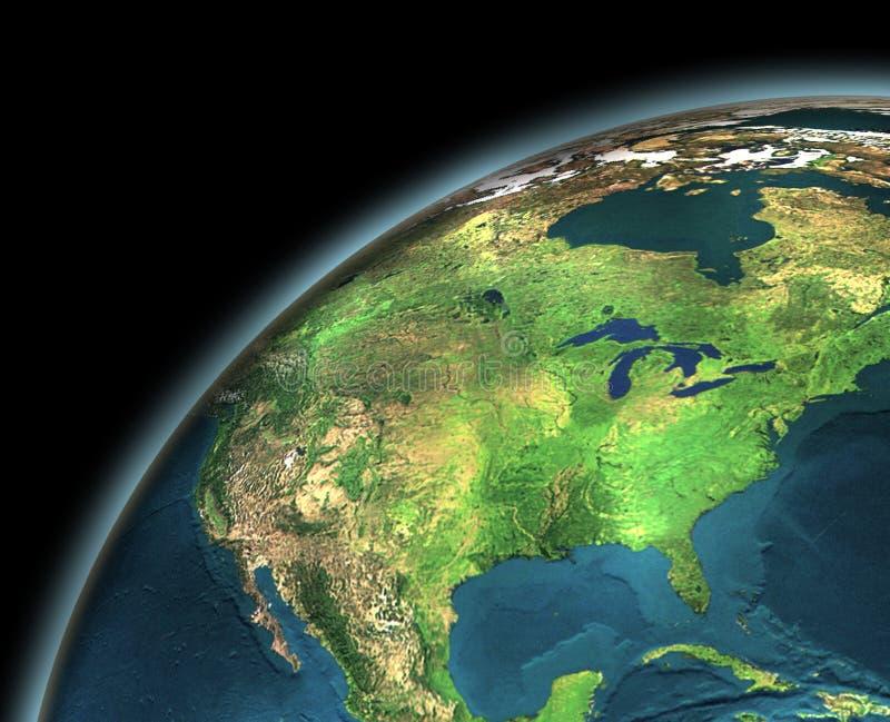 Download Earth stock illustration. Image of dark, environment, bright - 4333673