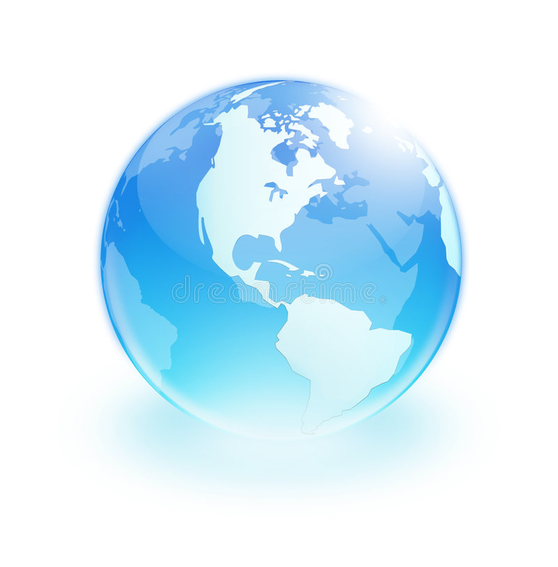 Download Earth stock image. Image of global, background, white - 5580903