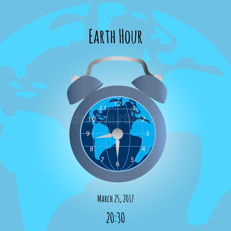 Earth and alarm clock on map background stock vector illustration download earth and alarm clock on map background stock vector illustration of awake object gumiabroncs Image collections