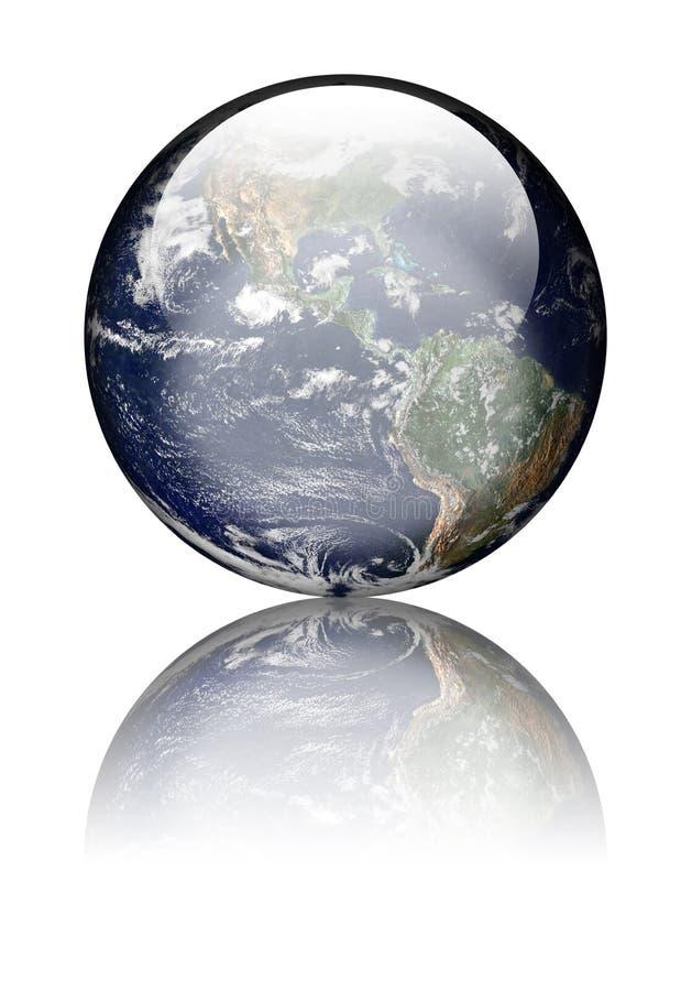 Free Earth As Glass Globe Stock Photos - 15654193