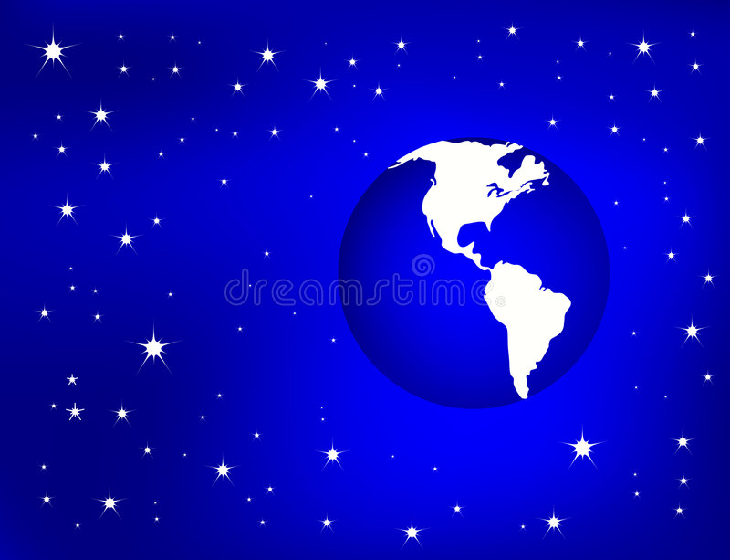 Earth Background vector illustration