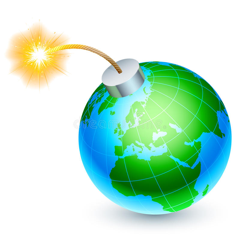 Download Earth Bomb Concept. Stock Photography - Image: 26325152