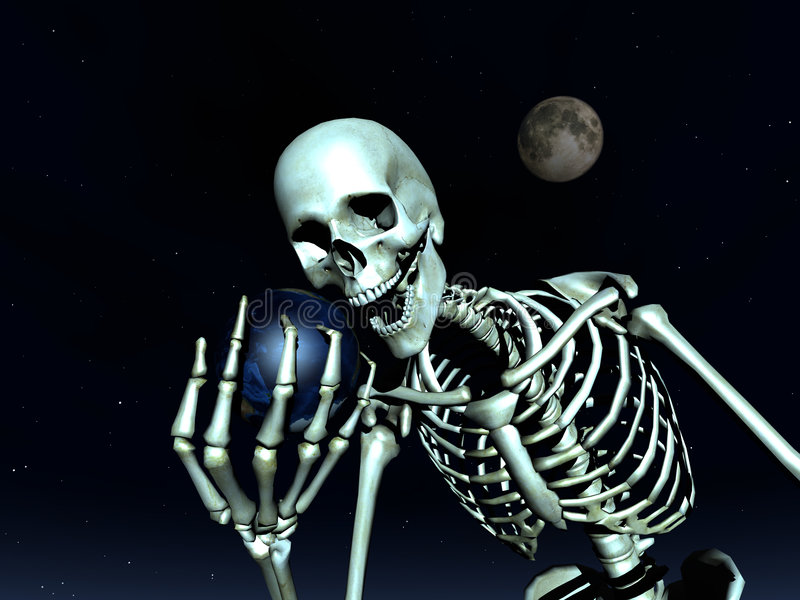 Download Earth And Bone 10 stock photo. Image of concept, bone - 1219600