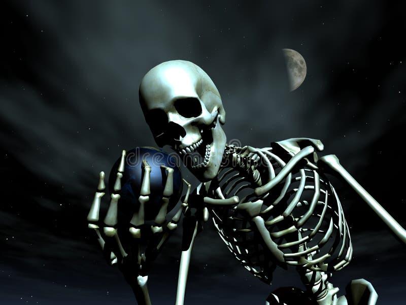 Earth And Bone 9 stock image