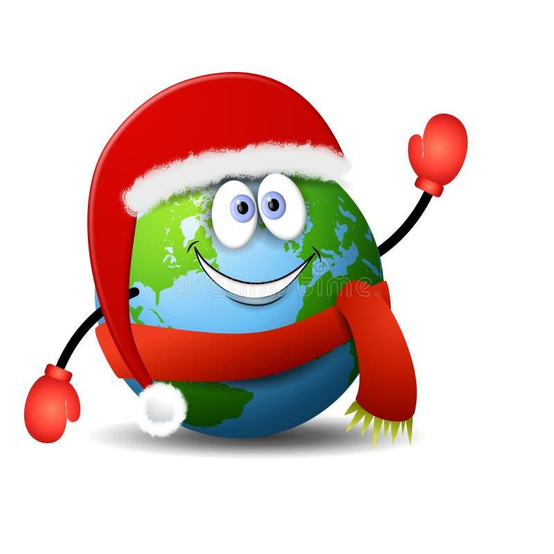 Earth Christmas Cartoon