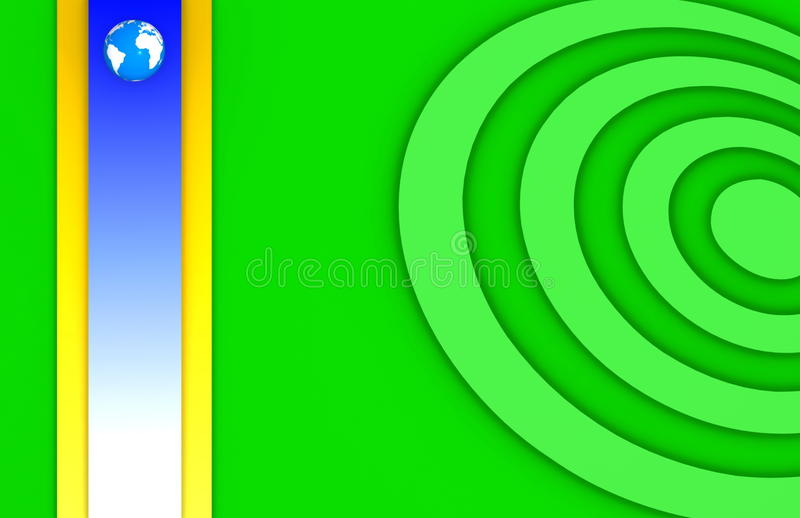 Download Earth in colorful graphics stock illustration. Illustration of colours - 13689940