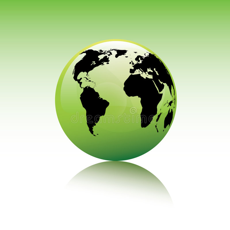 Earth concept. Environmental earth concept / globe / vector format included vector illustration
