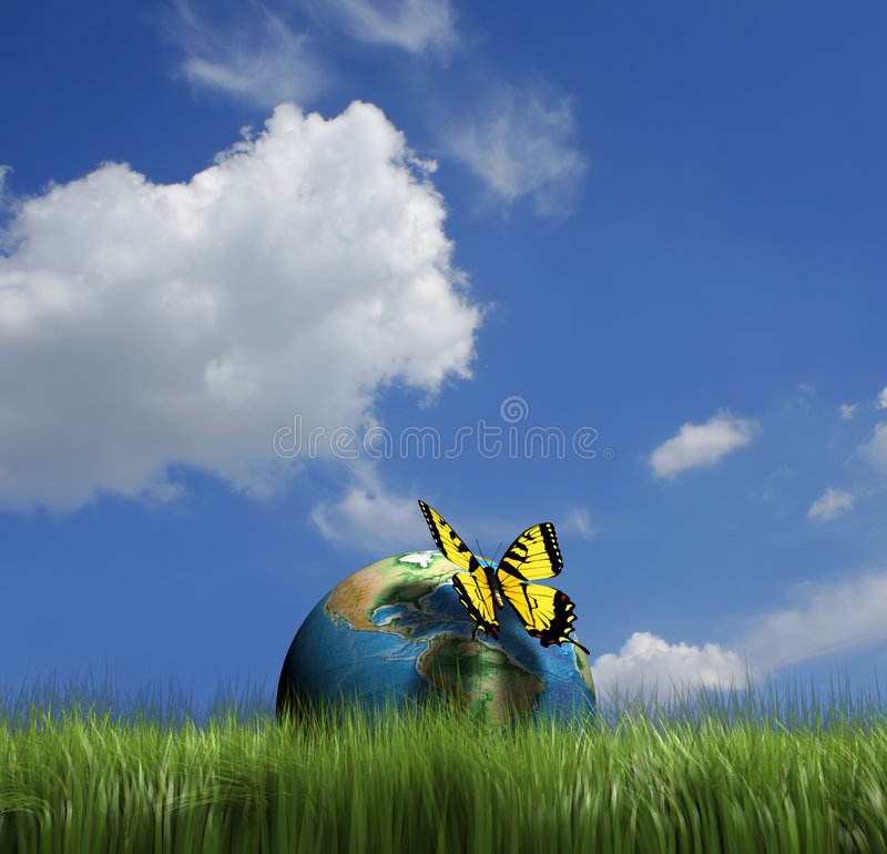 Download Earth conservation stock illustration. Image of conservation - 5406975