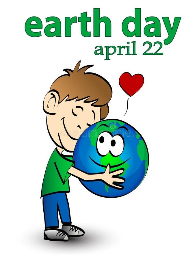 Earth day 3 vector illustration