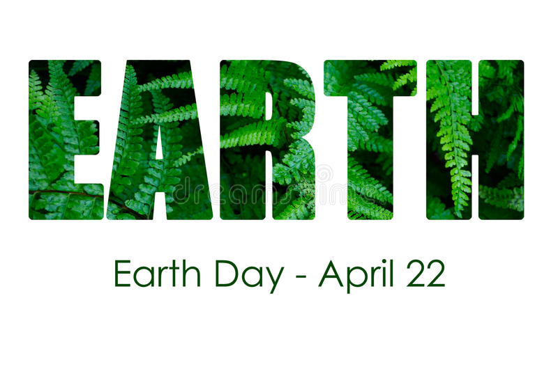 Earth Day, April 22, Concept Image royalty free illustration