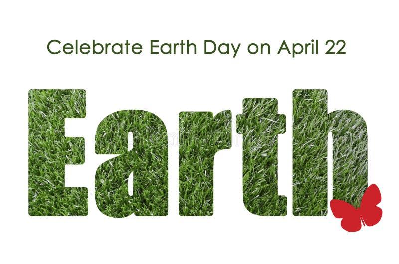 Earth Day, April 22, concept royalty free stock photos