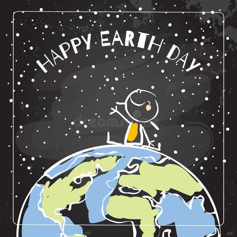 Earth day stock illustration