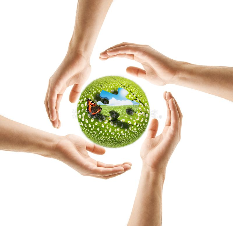 Earth Day 2019 stock photo