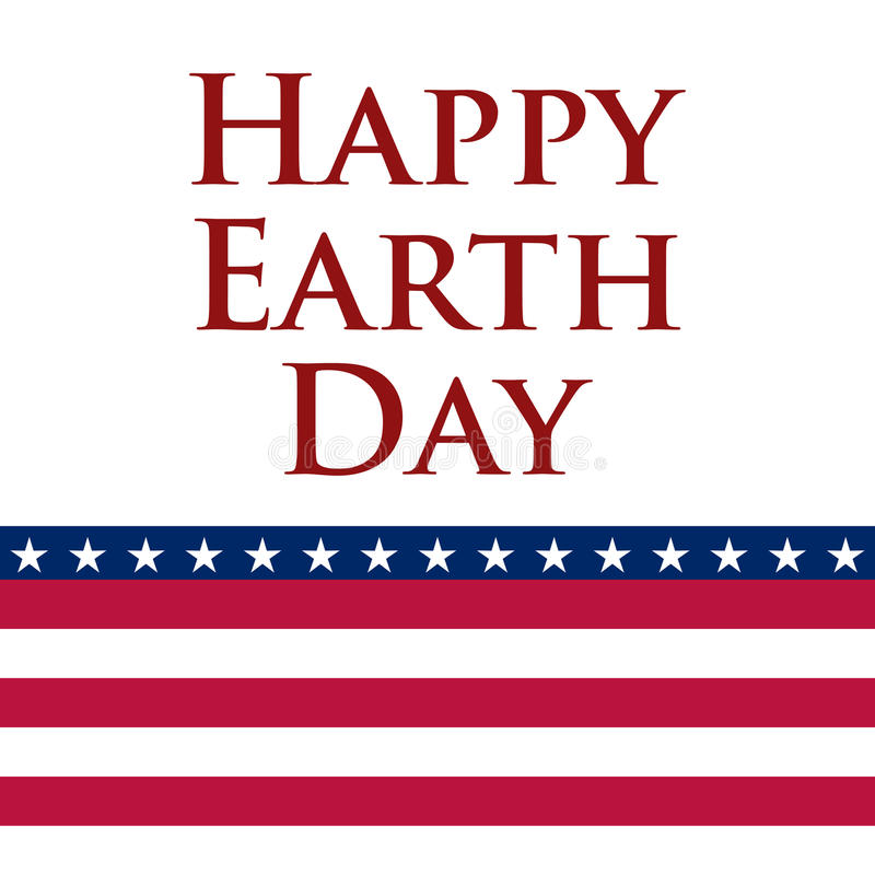 Earth Day in the United States. Vector illustration vector illustration