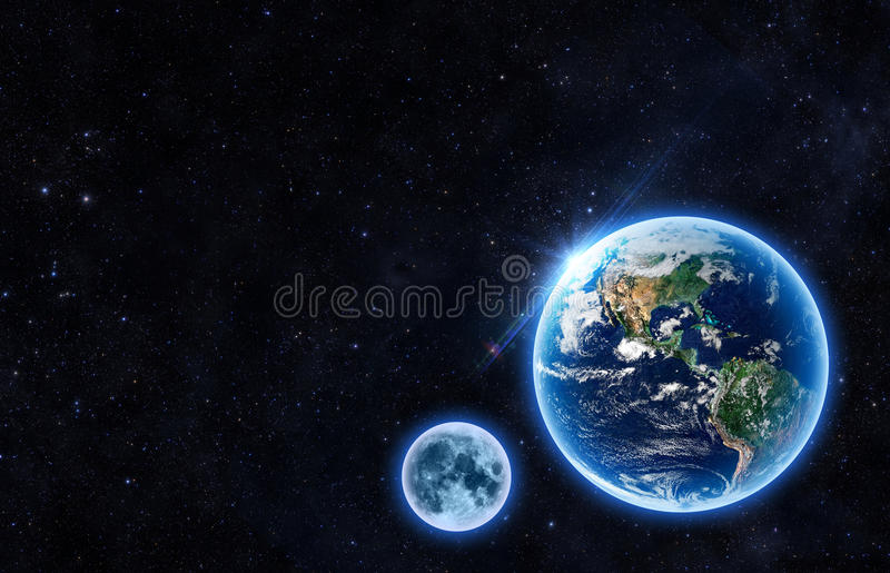 The Earth. Earth - Elements of this Image Furnished by NASA vector illustration