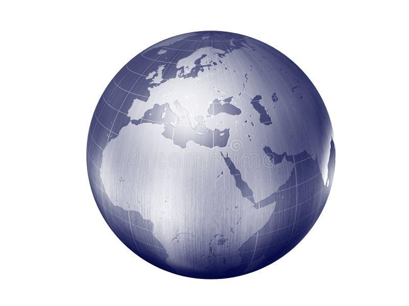Earth Europe Royalty Free Stock Photos