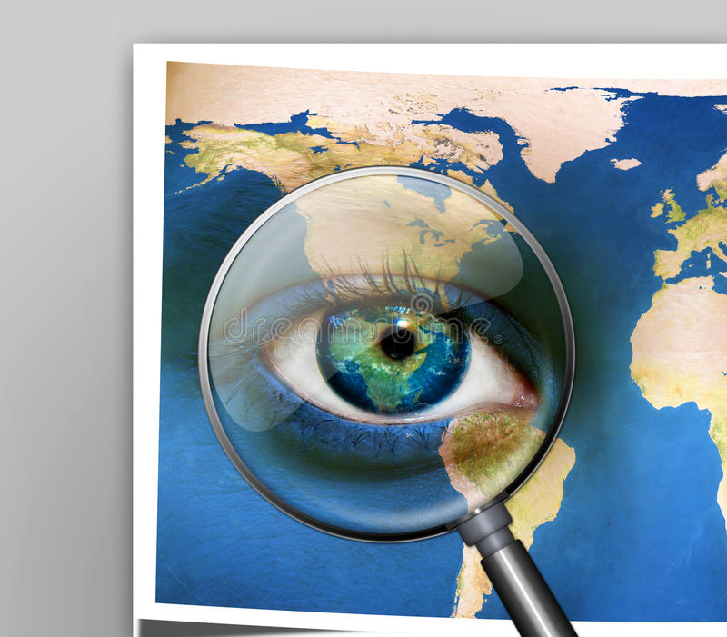 Earth Eyes stock images