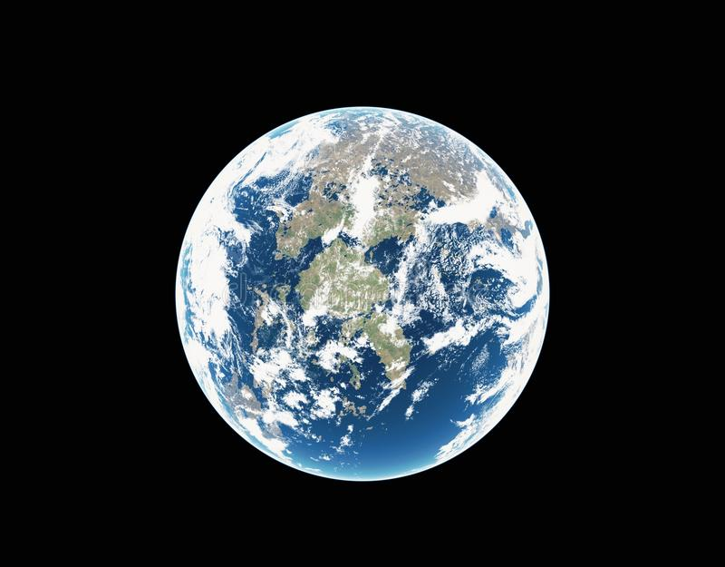 Earth - The Fantastic Planet Stock Image