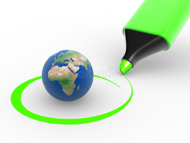 Download Earth Globe Royalty Free Stock Images - Image: 23603979