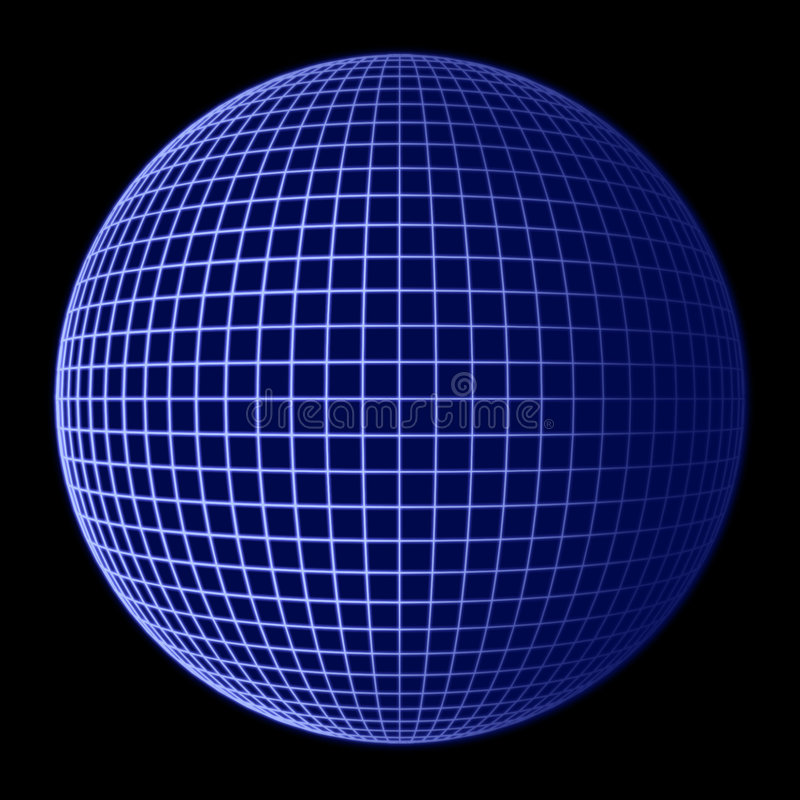 Free Earth Globe Blue Frame Royalty Free Stock Photo - 492105