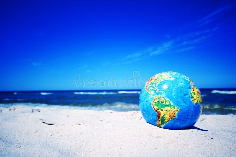 Earth globe. Conceptual image stock photography
