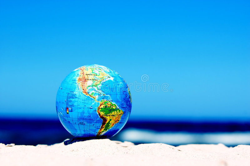Earth globe. Conceptual image royalty free stock photos