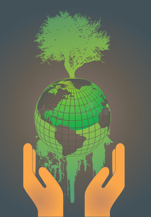 Download Earth Globe Environment Concept Stock Vector - Image: 14542737