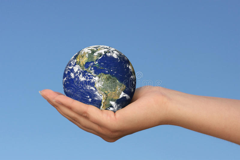 Download Earth in hand stock photo. Image of sphere, space, abstract - 10396960